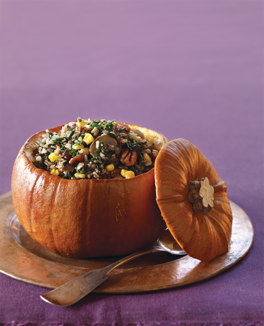 Shaping Traditions: Stuffed Pumpkin As The New Thanksgiving Table Holiday Table Centerpiece